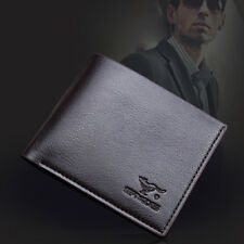 Men's Leather Credit Card Holder Wallet Bifold ID Cash Coin Purse Clutch