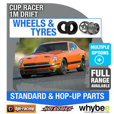 HPI CUP RACER 1M DRIFT [Wheels & Tyres] Genuine HPi 1/10 R/C Scale!