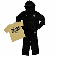 Wake Forest Demon Deacons Nike Infant Hoodie T-Shirt Pant 3-Piece Set NWT $45