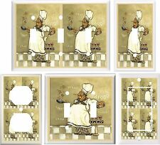 FAT CHEF KITCHEN DECOR LIGHT SWITCH COVER PLATE OR OUTLET V843