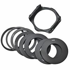 Lens Adapter Ring Filter Holder for Cokin P Series 49/52/55/58/62/67/77/82mm