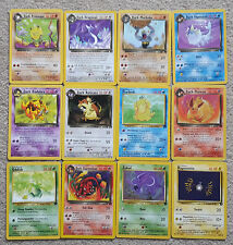 Team Rocket Pokemon Cards: near mint - 99p each!
