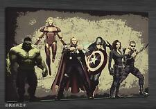 Oil Painting HD Print Wall Decor Art on Canvas, The Avengers (Unframed) 1PCS