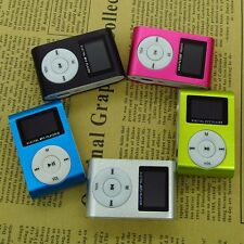 Mini USB Clip Digital MP3 Music Player LCD Screen Support 32GB Micro SD TF Card