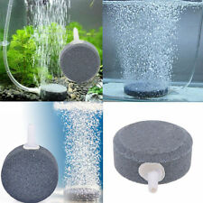 Aquarium Bubble Air Stone Aerator Fish Tank Pond Pump Hydroponics Disk Diffuser