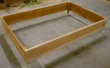 NEW 4X6 CEDAR RAISED PLANTER ELEVATED FLOWER BED GARDEN NEARLY 10 INCHES TALL