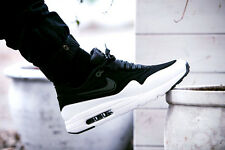 Nike Air Max 1 Ultra Moire  New Black White Trainers Ultralight 100% Authentic