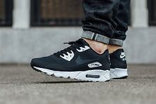 Nike Air Max 90 Ultra Essential New Mens Black Trainers 100% Authentic UK11.5;14