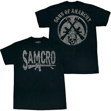Sons of Anarchy Samcro Rifle Logo T-Shirt