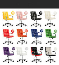 New PU Padded Leather Executive Home Office Business Computer High Back Chair