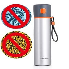 CENSUN Antibacterial Stainless Steel Thermos Cup Insulated Travel Coffee Mug16oz