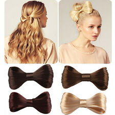 New Charming Lady Girls Big Bow Ties Wig Hairpin Hair Bow Clips Hair Accessories