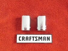 """Craftsman - 1/2"""" Drive Sockets - 6 Point - Metric and SAE - Choose Size"""