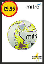 Mitre Magma Training Quality Football White/Yellow/Purple Size 4 NEW rrp £10