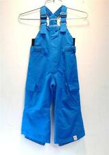 Roxy Girls/Kids Preschool Breeze Mini Ins Snow Ski Winter Bib Pant Blue NEW