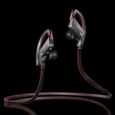 Wireless Bluetooth Headphones  Noise Isolating Ear Hook Headset Sport with Mic