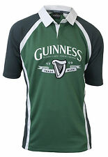 Guinness Ireland Performance Rugby Jersey Mens Irish Embroidered Drifit Shirt