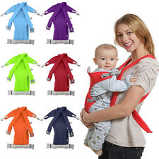 3-16 Month Baby Carrier Sling Wrap Rider Backpack Front/Back Pack Soft LN