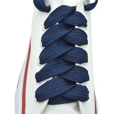 """52"""" Thick Sneakers Athletic Shoelace String """"Navy Blue"""" Shoelaces 1,2,12 Pairs"""