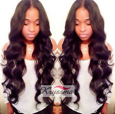 Body Wave Human Hair Lace Front Wigs Glueless Brazilian Remy Wig Middle Part 150