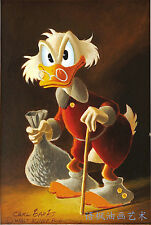 Oil Painting HD Print Wall Decor Art on Canvas,Donald Duck-11 (Unframed) 1PCS
