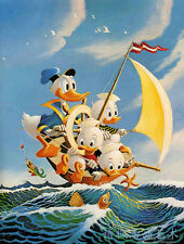 Oil Painting HD Print Wall Decor Art on Canvas,Donald Duck-14 (Unframed) 1PCS