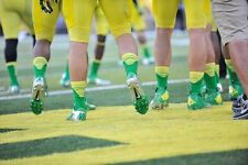 NIKE elite Vapor Mens M Football crew Socks #SX4692-347 oregon fighting ducks