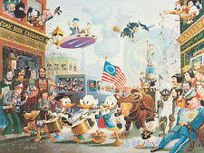 Oil Painting HD Print Wall Decor Art on Canvas,Donald Duck-71 (Unframed) 1PCS
