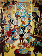 Oil Painting HD Print Wall Decor Art on Canvas,Donald Duck-79 (Unframed) 1PCS
