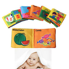 Baby Cloth Intelligence Development Learning Picture Educational Cognize Books