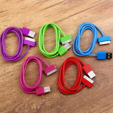 USB Charger Sync Data Cable for iPad2 3 iPhone 4 4S 3G 3GS iPod Nano Touch KN