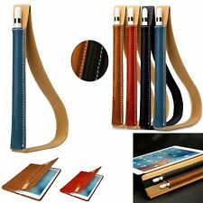 New Genuine Leather Case Cover Sleeve Pouch Holder for Apple iPad Pro Pencil FS