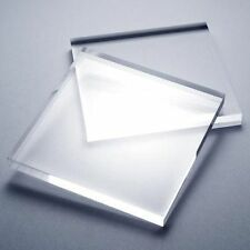 CUT TO SIZE Clear Acrylic Perspex Plastic Sheet Greenhouse Glass Replacement