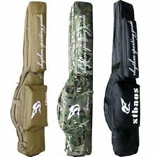 """Tactical 47""""/1.2m Hunting Rifle Airsoft Gun Carry Case Double Padded Bag"""