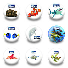 9-90PCS Finding Dory Nemo Tin Buttons pins BROOCH badges 30MM New pack Kids Gift