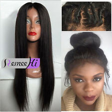 Wholesale Silky straight Lace Front /Full lace wigs indian Remy Human Hair Wigs