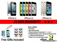 Apple iPhone 5C 5S 16GB 32GB 64GB Smartphone Factory Options Available