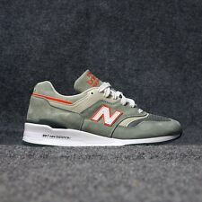 NEW BALANCE 997 MADE IN USA AGE OF EXPLORATION (GREY/ORANGE) M997CHT MEN'S SHOES