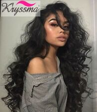 Best Curly Hair Lace Front Wigs 6A Brazilian Remy Human Hair Glueless Wig 130%