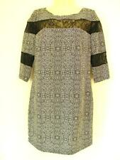 BNWT PORTMANS STUNNING LACE INSERT  SHIFT DRESS  RRP $89.95 **** FREE POSTAGE***