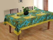 New Tablecloth Catering Banquet Party Table Cover Cloth 100% Cotton Tableware
