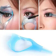 Women's Makeup 3-In-1 Crystal Mascara Applicator Guide Tool Eyelash Comb Stuck