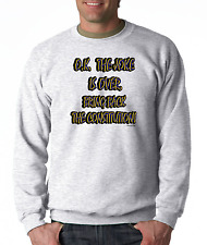Long Sleeve T-shirt Adult Youth Oneliner O.K Jokes Over Bring Back Constitution