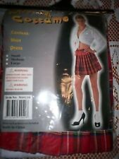 fancy dress costume naughty school girl cosplay reduced to clear