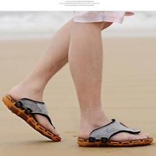 Summer Fashion Beach Sandals Flip Flops Man's Beach Leather Flip Flops Sandals