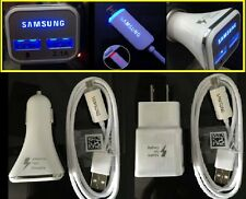 OEM LED USB Cable Fast Car /Wall Charger for Samsung Galaxy S7 S6 Edge Note 4 5