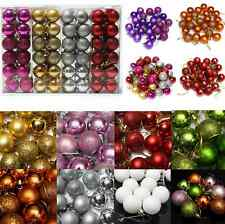 Xmas 24X Christmas Tree Decor Ball Bauble Hanging Party Ornament Decor Home Q.