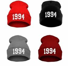 Women Men's Unisex Winter Warm 1994 Beanie Hat Knitted Wool Skullies Hip-hop Cap