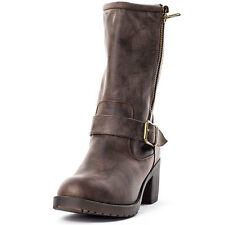 Rocket Dog Hallie Stripe Galaxy Womens Boots Brown New Shoes