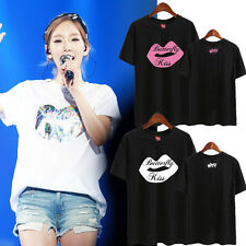 TAEYEON TAE YEON KPOP T-SHIRT TSHIRT TEE WHY BUTTERFLY KISS GIRLS GENERATION